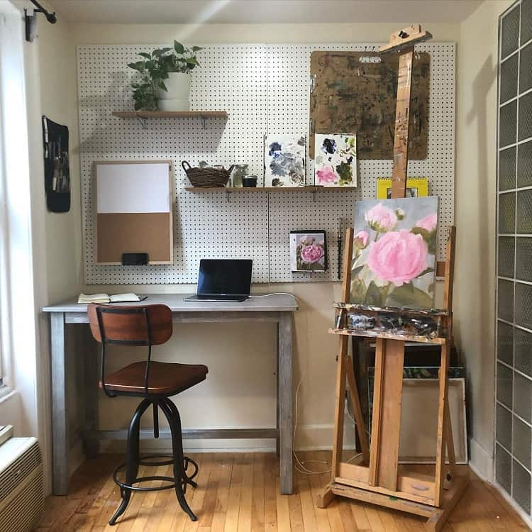Newly Crafted Home Study Pegboard Ideas Maggiegmoran