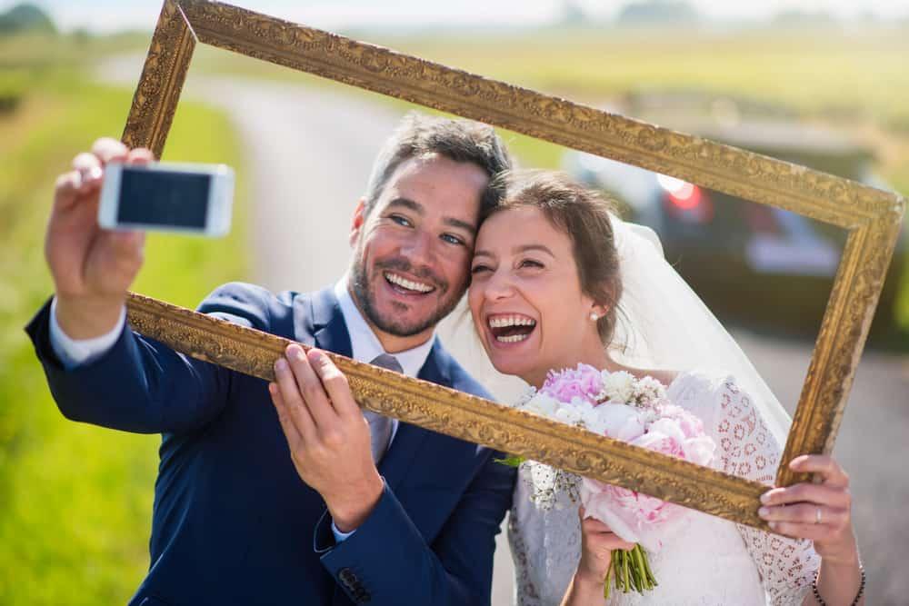 newlywed going on honeymoon