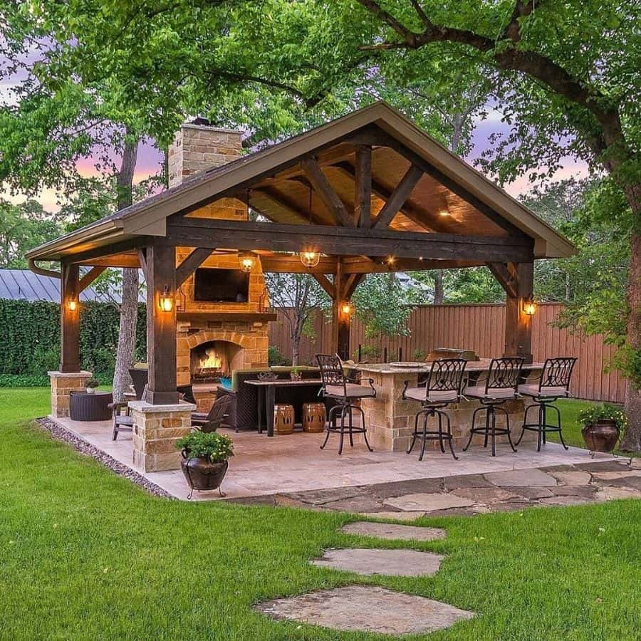 The Top 80 Best Gazebo Ideas - Backyard Ideas