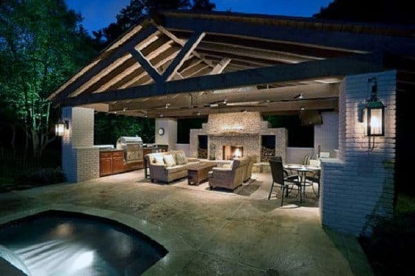 Nice Backyard Pavilion Designs
