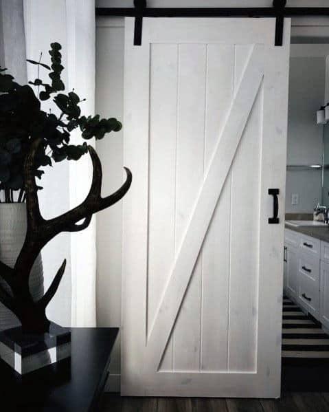 Nice Barn Door Interior Ideas