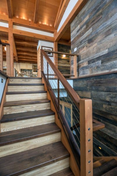 Nice Basement Staircase Interior Ideas