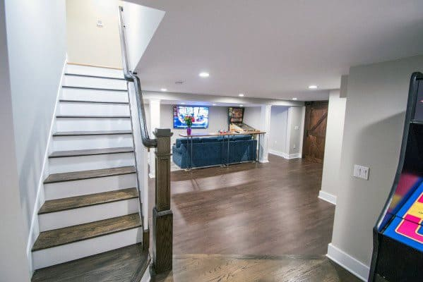 Nice Basement Stairs Interior Ideas