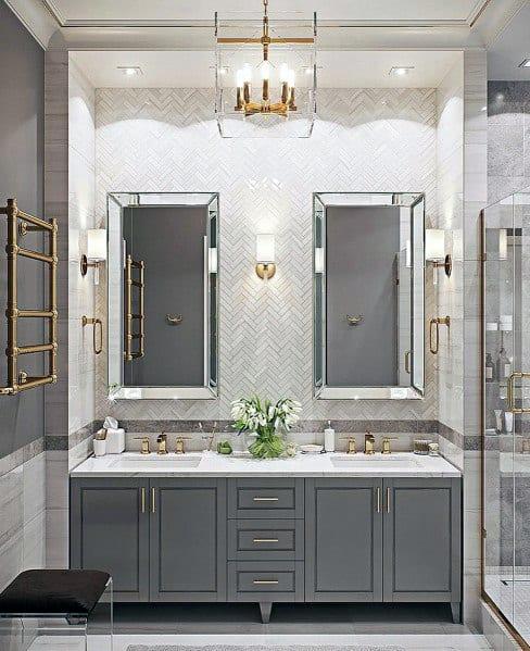 Nice Bathroom Lighting Interior Ideas