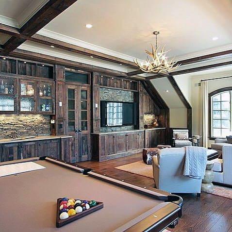 Nice Billiards Room Ideas