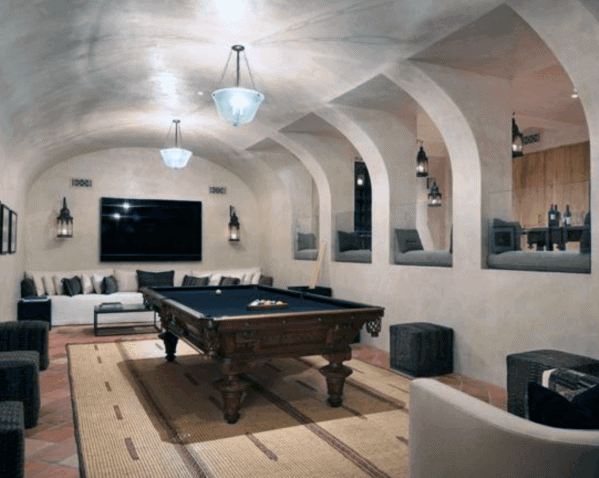 Nice Billiards Room Interior Ideas