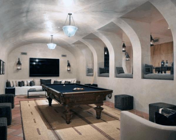 Nice Billiards Room Interior Ideas