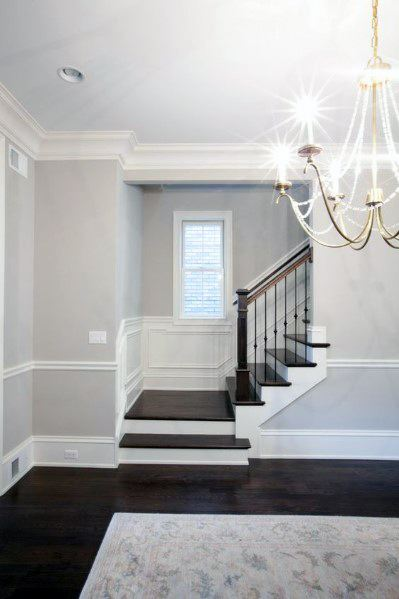 Nice Chair Rail Millwork Trim Ideas