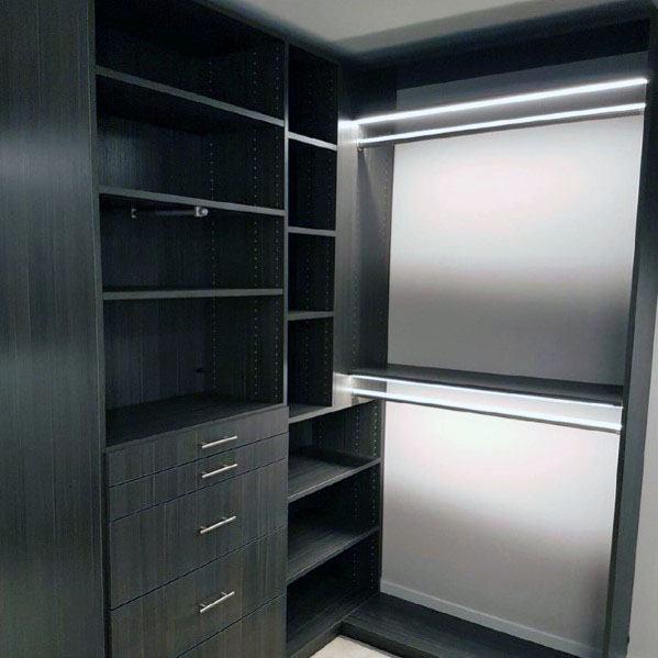 Nice Closet Lighting Interior Ideas