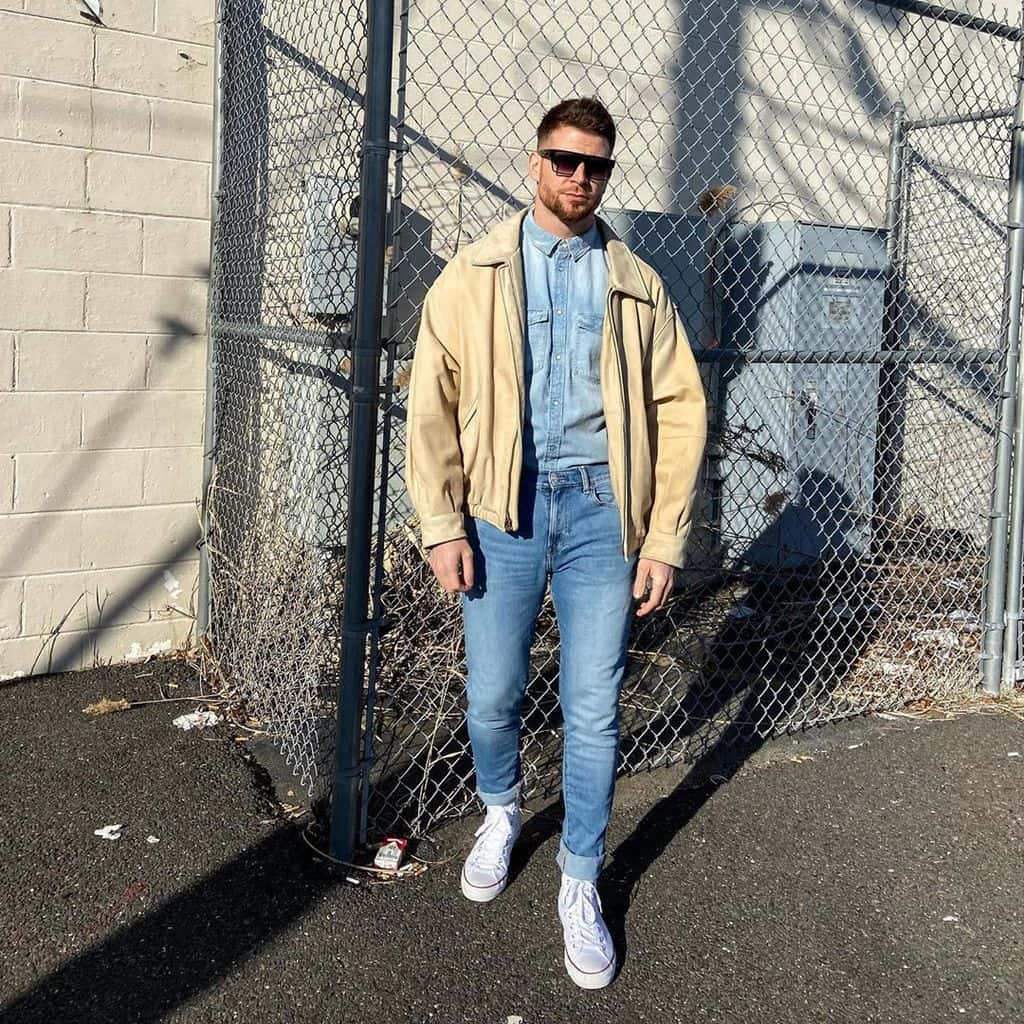 Nice Cool Jacket Street Style Outfit