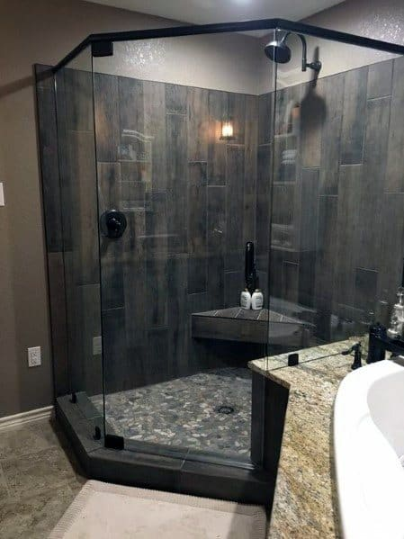 Nice Corner Shower Bathroom Ideas