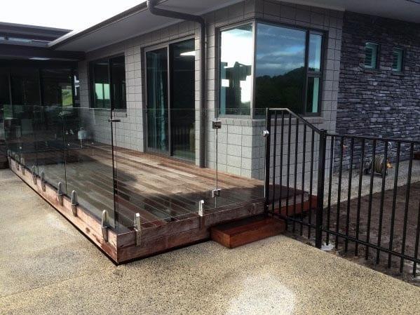 Nice Deck Gate Backyard Ideas