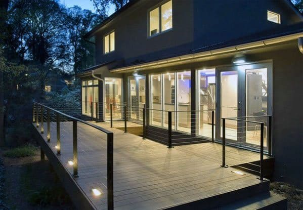 Nice Deck Lighting Exterior Ideas