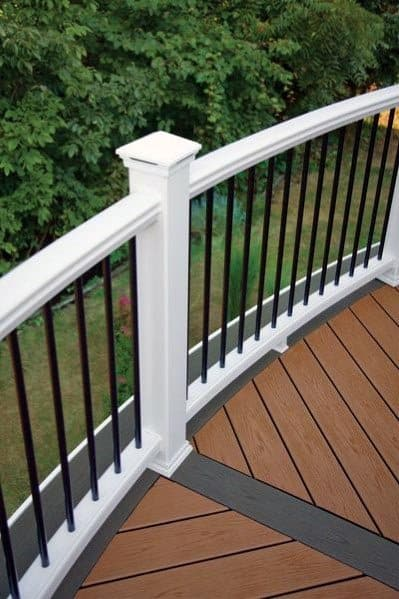 Nice Deck Railing Exterior Ideas
