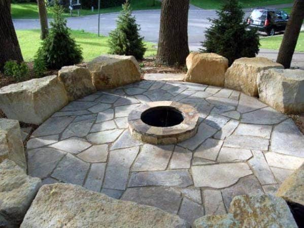 Nice Fire Pit Landscaping Backyard Ideas
