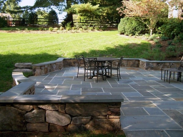 Nice Flagstone Patio Design Ideas