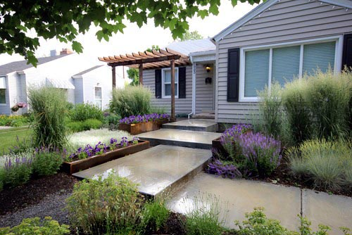 Nice Front Yard Landscaping Exterior Ideas
