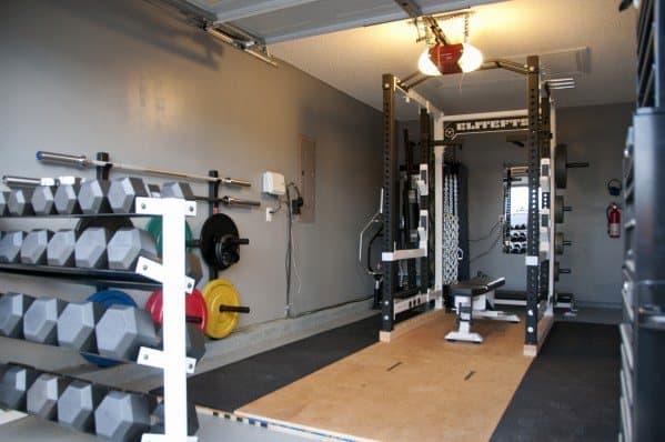 Nice Garage Gym Ideas