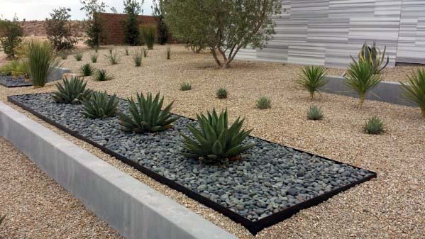 Nice Gravel Landscaping Exterior Ideas