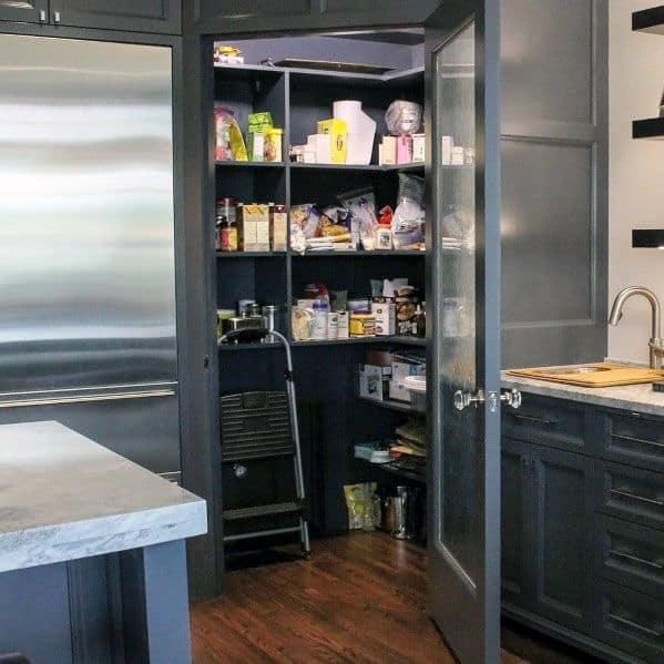 Nice Kitchen Pantry Door Interior Ideas