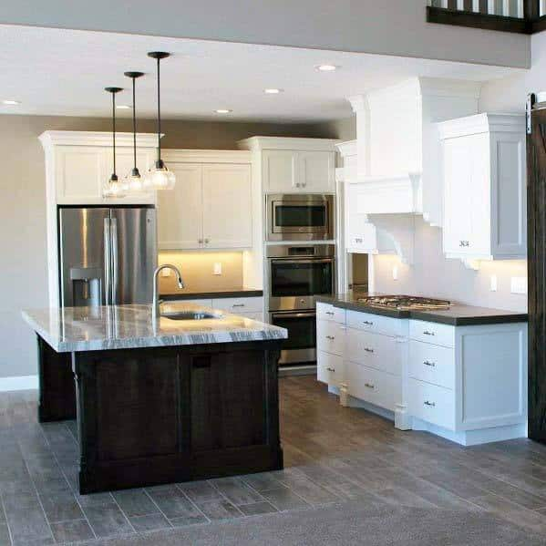 Nice Kitchen Tile Floor Interior Ideas