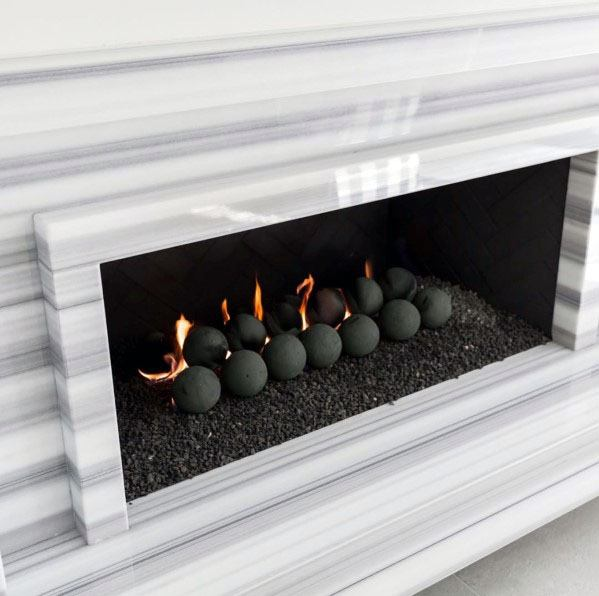 Nice Linear Fireplace Interior Ideas