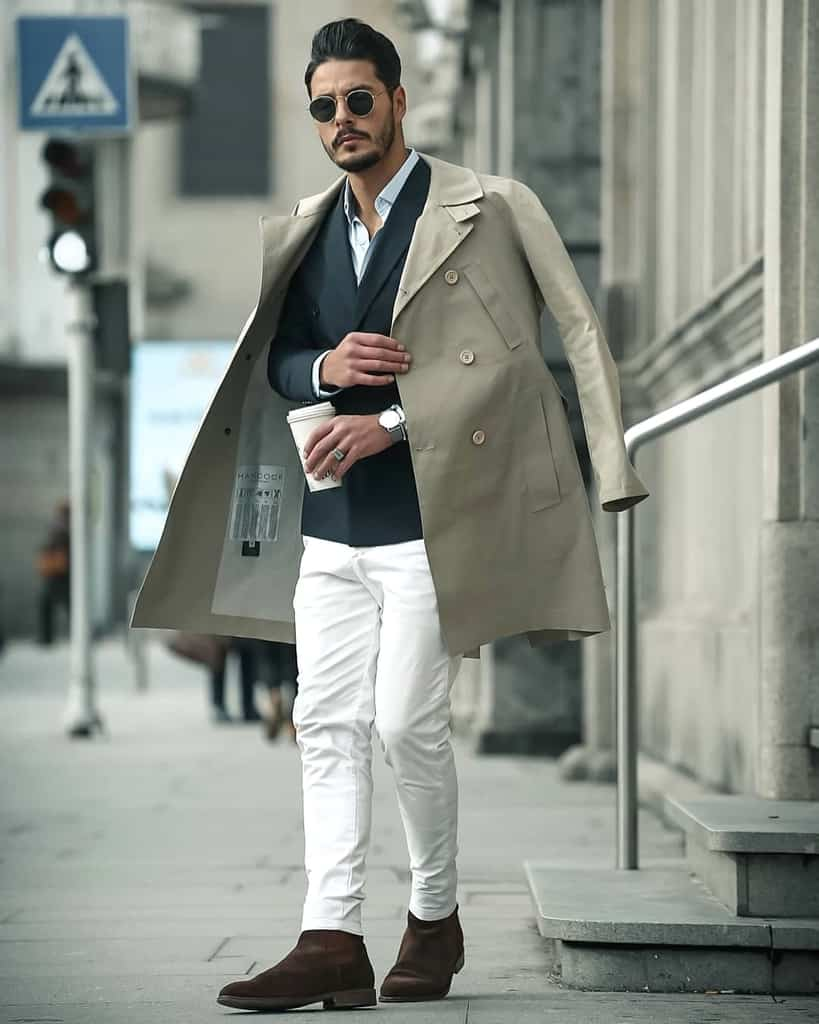 Nice Long Coat Fashion Outfit
