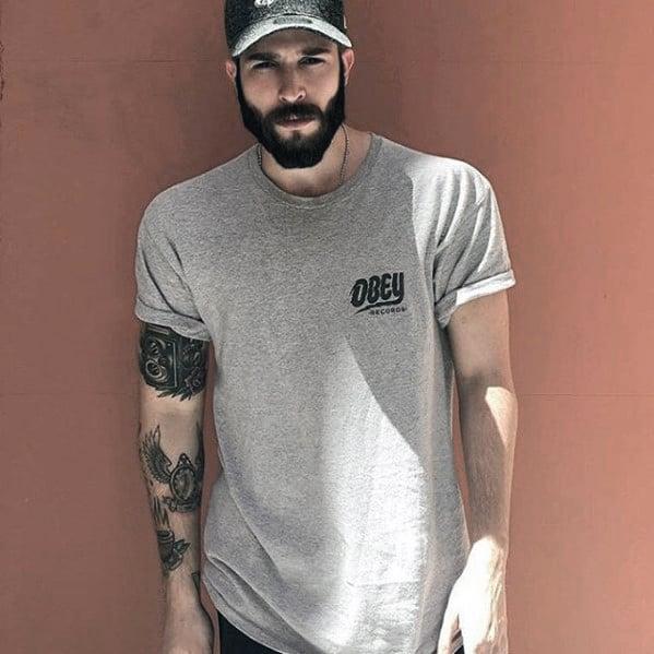 Nice Manly Guys Beard Styles