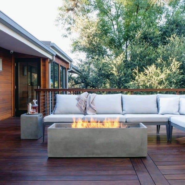 Nice Modern Deck Backyard Ideas