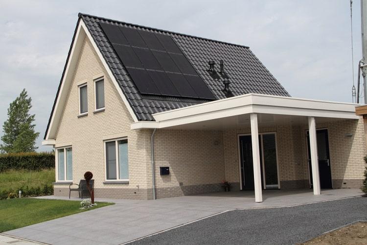 Nice Modern House Solar Carport Ideas