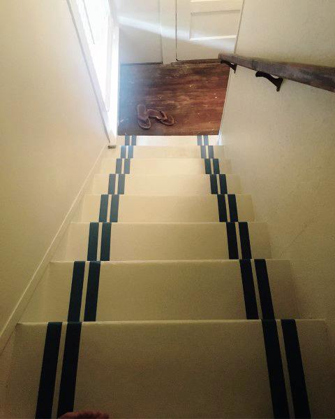 Nice Painted Staircase Interior Ideas