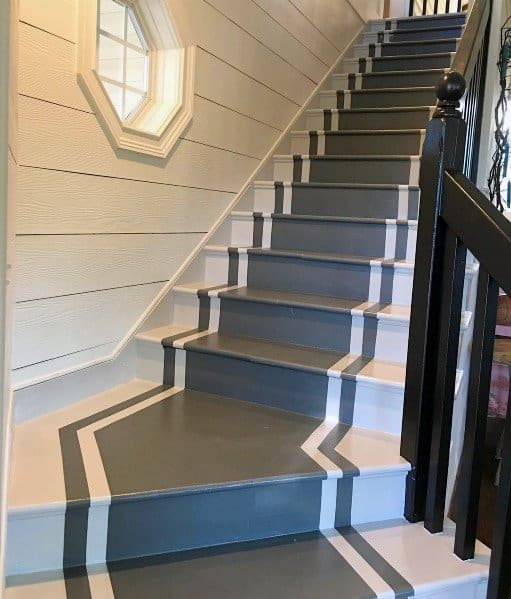 Nice Painted Stairs Interior Ideas