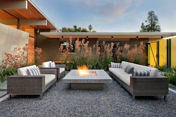 Nice Patio Firepit Outdoor Ideas