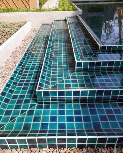 Nice Pool Tile Interior Ideas