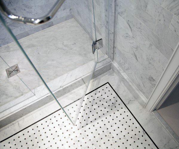 Nice Shower Floor Tile Interior Ideas