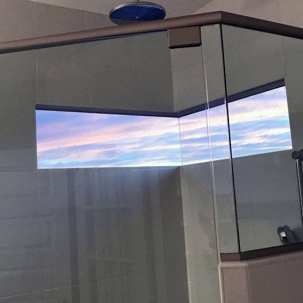 Nice Shower Window Interior Ideas