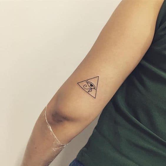 Nice Small Eye Tattoo
