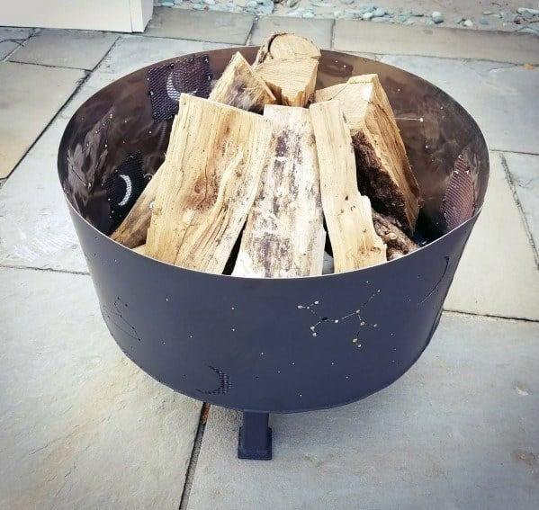 Nice Steel Fire Pit Backyard Ideas