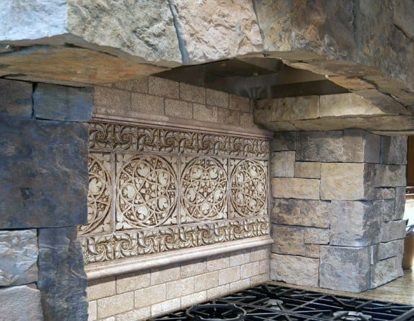 Nice Stone Backsplash Kitchen Ideas