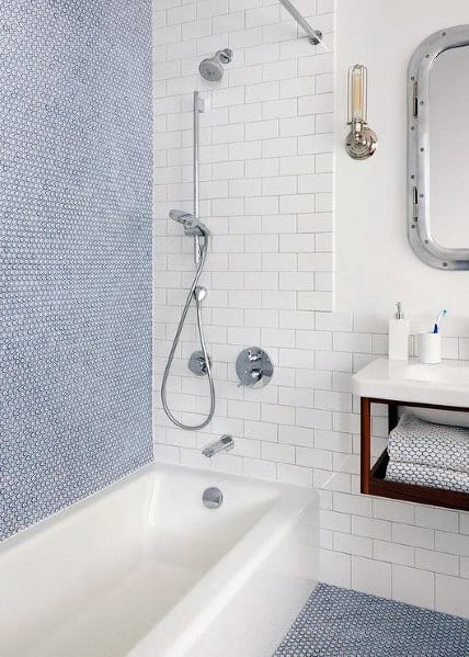 Nice Subway Tile Shower Interior Ideas