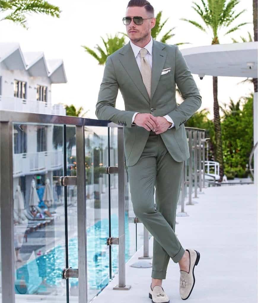 Nice Suit Mens Wear Outfit