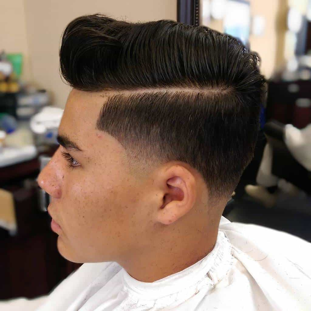 Nice Textured Over Comb