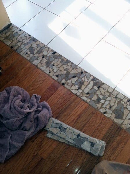 Nice Tile To Wood Floor Transition Interior Ideas