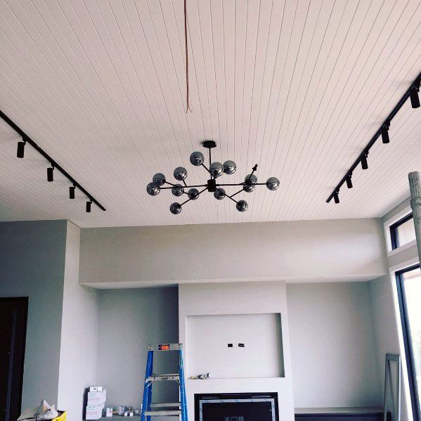 Nice Track Lighting Interior Ideas For Living Room