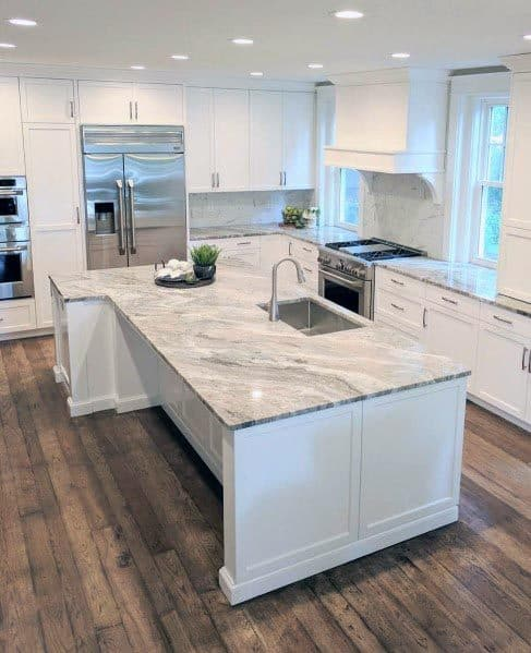 Nice White Kitchen Interior Ideas