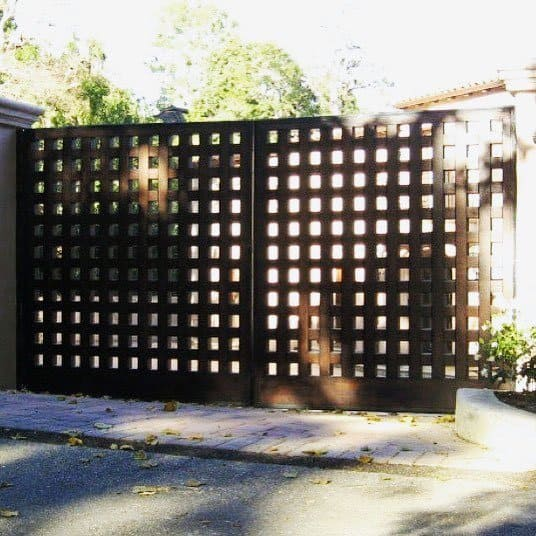 Nice Wooden Gate Exterior Ideas