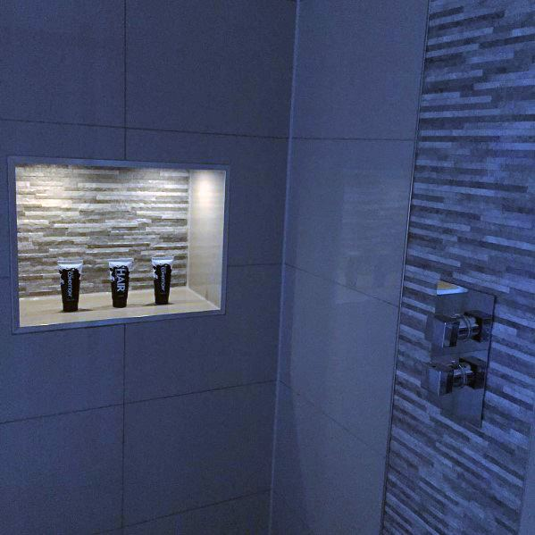 Niche Shelf Led Ideas For Shower Lighting