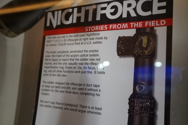 Nightforce Bullet Through Scope Stories From The Field