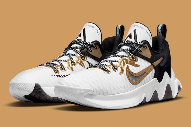 Nike Celebrates Giannis' Championship Win With the Immortality 'Championship' Sneaker