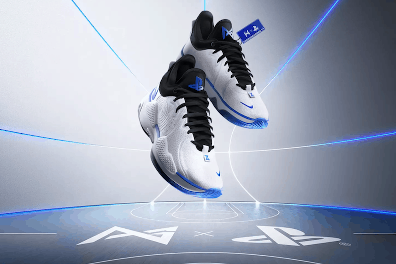 Paul George & Nike Collaborate With PlayStation for the Nike PG5 PlayStation Sneakers